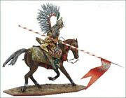 Painted Tin Toy Soldier 54mm. Polish Winged Hussar. Battle Of Vienna 1683.