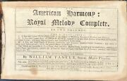 William Tans'ur / American Harmony Or Royal Melody Complete Bound 1771