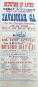 Reduction Of Rates By The Great Southern Freight And Passenger Route Via 1870