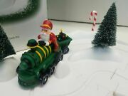 Dept 56 North Pole Series Animated Train With Track 53030 Animated 7 Pc Set