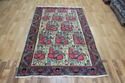 Old Handmade Persian Rug With A Very Pleasing Floral Design 205 X 130 Cm