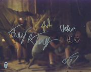 It 5 Skaarsgard Taylor Martell Jacobs And Lillis Signed 11x14 Photo Bas
