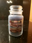 Village Candle 2-wick Classic Jar Candle 21.25 Oz Tranquil Moments Limited Ed