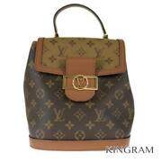 Louis Vuitton Monogram Dauphin Backpack M45142 Womenand039s Backpack From Japan