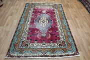 Antique Persian Rug With A Very Pleasing Floral Design And Colours 210 X 135 Cm