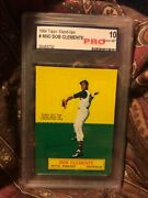 Roberto Clemente 1964 Topps Stand-up Nno Pro 10 Rare