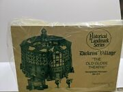Department 56 Old Globe Theatre Dickens Village Heritage Collection 58501 New