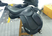 New Jumping Leather Saddle / Close Contact Saddle Available Size 17, 17.5