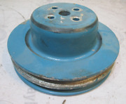 D3jl-8a528-f Ford V8 Aluminum Water Pump Pulley 2 Groove Omc Mercruiser