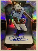 2016 Select Silver Prizm Derrick Henry Rookie Rc Auto /49