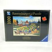 New Ravensburger An Afternoon Stroll Pauline Paquin Canadian Artists 1000 Puzzle