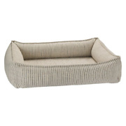 Bowsers Microlinen Augusta Ticking Urban Lounger Rectangle Dog Bed — Pick Size