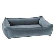 Bowsers Chenille Mineral Urban Lounger Rectangle Nesting Dog Bed — Pick Size