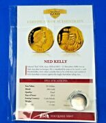 2013 Macquarie Mint - The Smallest Gold Coin - Ned Kelly Tiny Coin Big Value