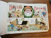Buster Brown's The Busy Body Large Antique Comic By R. F. Outcault C1909 Xmas