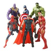Marvel Avengers Infinity War 16cm Action Figures Toys Super Heroes Kid Collect