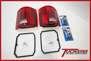 73-91 Chevy Gmc Fleetside Truck Led Sequential Tail Lights W/ 2 Flashers Kit