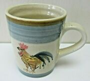 Farmhouse Gibson Rooster Coffee Mug Cup 11 Oz Ocean Dream Everyday Replacement
