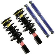 Set-ts172231-c Monroe Shock Absorber And Strut Assemblies Set Of 4 New For Chevy