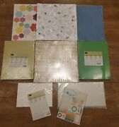 Huge Lot New Stampin Up 12 X 12 Dsp Paper Bundle This And That Epic Day