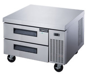 New 36 Refrigerated Chef Base 2 Drawer Equipment Stand Dukers Dcb36-d2 5193