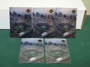 1995 Coors Field Inaugural Collector Cards Hand-numbered /3,000 Lot Of 5 Rockies