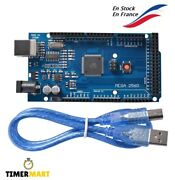 Board Mega 2560 R3 Atmega2560 Ch340g With Or Without Cable Arduino Timermart