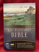 Nkjv Charles F. Stanley Life Principals Bible By Thomas Nelson Bonded Leather