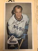 1973-74 O-pee-chee Wha Hockey Posters Complete Set Of 20 Gordie Howe Autographed