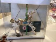 Smithsonian Collection Carousel Horse Ornament By Kurt S Adler No Box