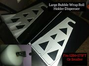 12in×175ft Wall Bubble Wrap Roll Holder Dispenser.holds Big Rolls 175' And Smaller
