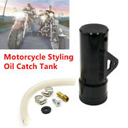 Motorcycle Scooter Atv Oil Catch Tank Aluminum Coolant Reservoir Catch Fuel Can