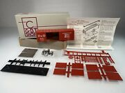 Candbt Shops Ho Baltimore And Ohio 40and039 Boxcar Train Kit Ho-1203 Vermillion Dbl Door