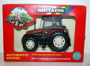 Britains 1/32 - 9487 New Holland 6635 Tractor Small Red Vintage Farm Toys