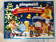 Playmobil Vintage Advent Calendar 4152 Christmas In The Park New Sealed Pieces