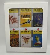 New Sealed Playbill Broadway Cares Classic Collection Ornaments Volume 7 2018