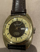 Vintage Very Rare Dial Omega Constellation F300 Day Date Chronometer
