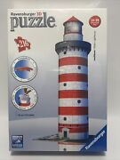 Ravensburger 3d Lighthouse Puzzle 2011 New Sealed No Glue Required 3d Puzzle