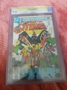 1980s The New Teen Titans 1 Signed 9.6 Cgc Marv Wolfman And George Perez