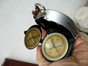 Vintage Complete With Case Germany Army Bezard Field Compass Kompass Military W2