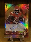2020 Panini Gold Standard Clyde Edwards-helaire Rookie Auto 23/25 Chiefs