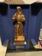 Elvis 1977 Wiskey Decanter Music Box By Mccormick