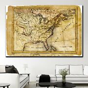 Old Medieval Map Antique And Vintage World Maps Canvas Art Print For Wall Decor