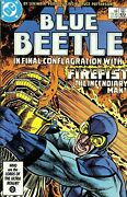 Blue Beetle 2 Comic 1986 - Dc Comics - Ted Kord - Booster Gold - Justice League