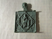 Tin Bronze Middle Part Of The Icon Spas In Strength. 17th Century. R10. Rare