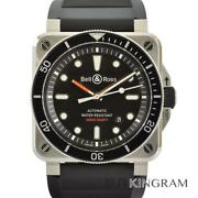 Bell&ross Diver Type Diver Br03-92-div Machine Checked Watch From Japan