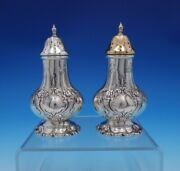 Francis I By Reed And Barton Sterling Silver Salt Pepper Shaker Set X571 3262