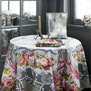 Beauville, Arne Du Millenaire Gray French Tablecloth, 67 X 106, New In Box