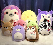 Squishmallows Lot Of 9 16andrdquo 12andrdquo And 8andrdquo Mixed Lot - Nla In Store Last Set