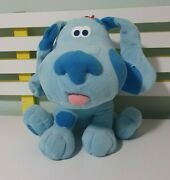 Blues Clues Plush Toy Blue Dog Character Toy 29cm Seated Nanco 2002